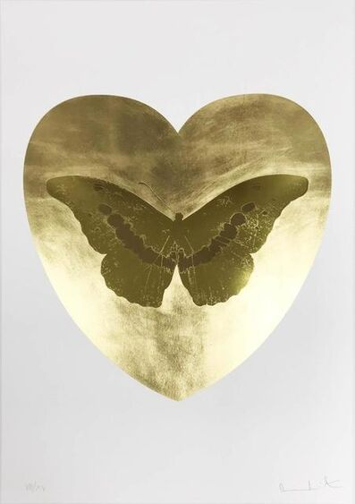 Damien Hirst, 'I Love You - Gold Leaf/Oriental Gold/Cool Gold', 2015