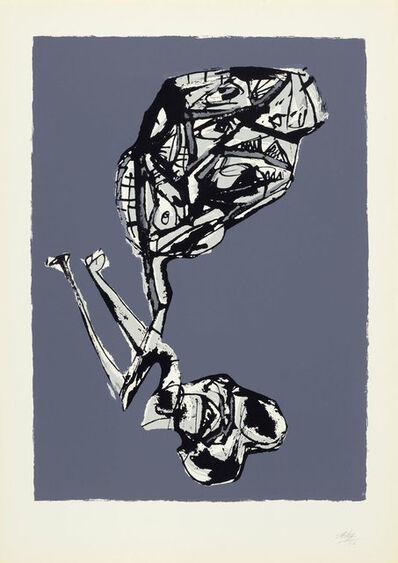 Antonio Saura, 'Aquella tarde al verse en el espejo', 1962