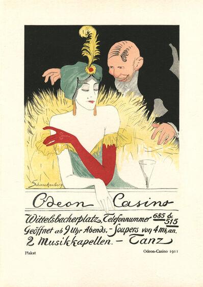 """Walter Schnackenberg, '""""Odeon Casion 1911"""", Kostume, Plakate und Decorationen', 1920"""