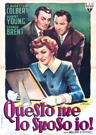 Giorgio Olivetti, 'QUESTO ME LO SPOSO IO!', 1950