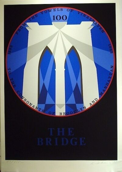Robert Indiana, 'The Bridge', 1983