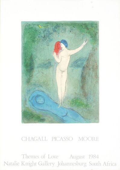 Marc Chagall, 'Chloe's Kiss', 1984