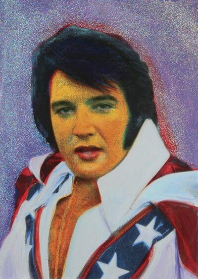 Ron English, 'Evel Elvis', 2019