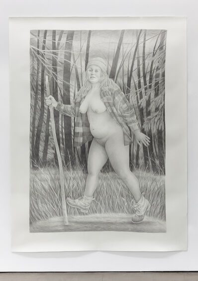 Rebecca Morgan, ' Woods Walker', 2014