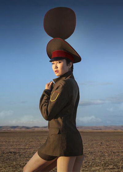 Almagul Menlibayeva, 'Camouflage Centaur', 2014