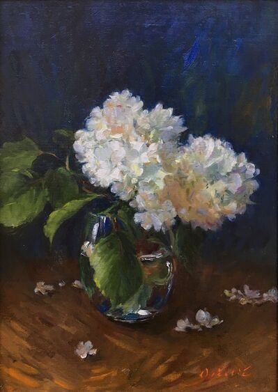 Tina Orsolic Dalessio, 'White Hydrangeas', 2019