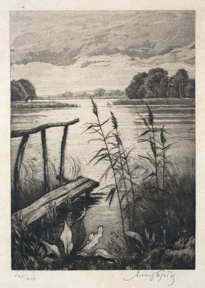Josefine Auspitz, 'Lake View', n.d.