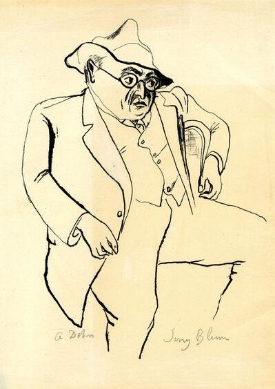 Adolf Arthur Dehn, 'Jerry Blum', ca. 1920