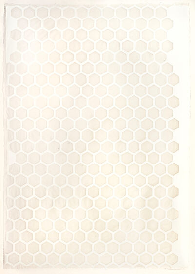 Teresa Cole, 'White Hexagons', 2015