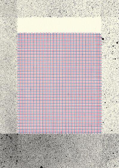 Callum Russell, 'Lined Paper IX', 2017