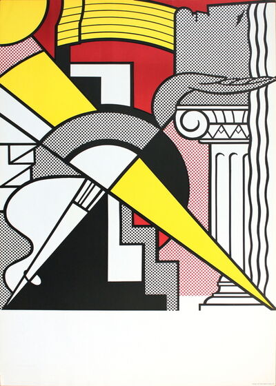 Roy Lichtenstein, 'Arrow and Column', 1967