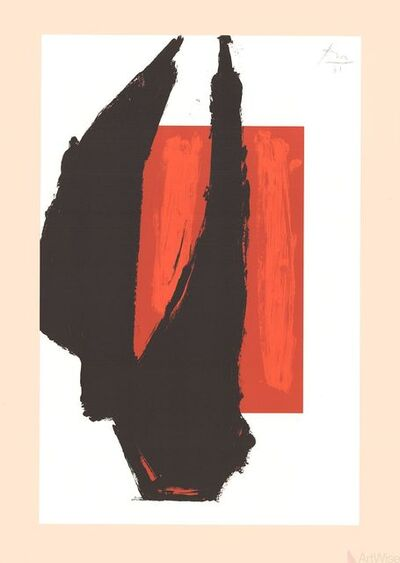 Robert Motherwell, 'Untitled', 1981