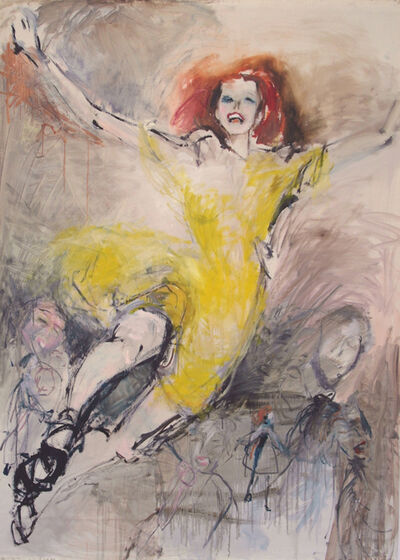 "Olga Gorokhova, '""Yellow""', 2018"