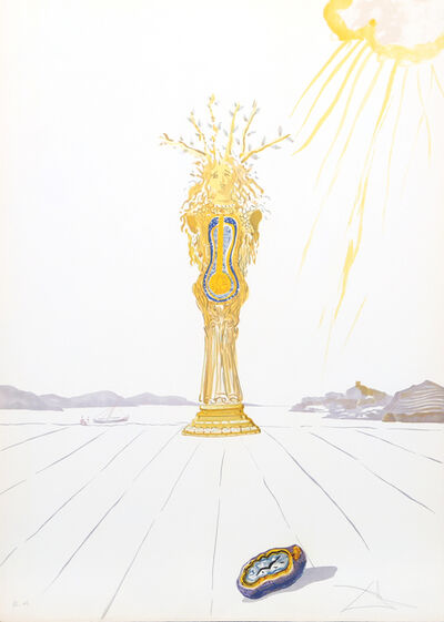 Salvador Dalí, 'Barometer Woman (Barometer) from Time', 1976