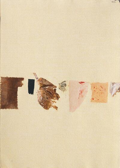 Alberto Burri, 'Pagina', 1953-54