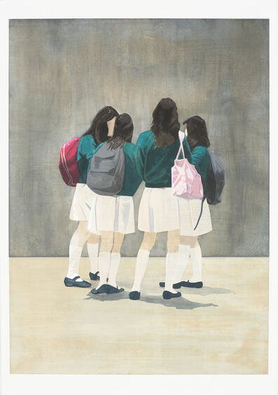 Tim Eitel, 'White Skirts'