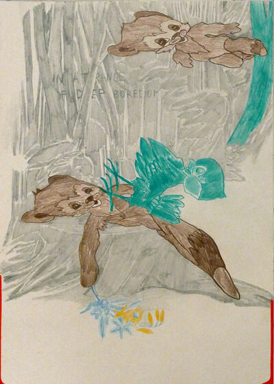 Julia Zastava, 'IN A TRANCE OF DEEP BOREDOM', 2019