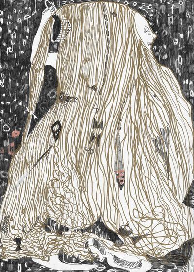 Summer Wheat, 'Brushing Hair', n.d.