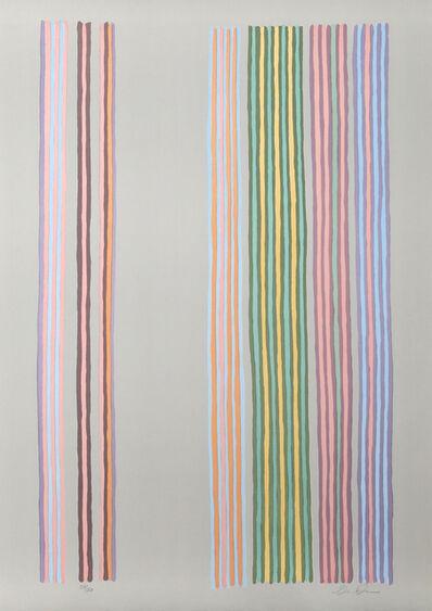 Gene Davis, 'Royal Curtain', 1980