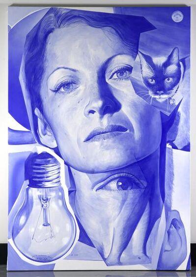 Victor Rodriguez, 'Blue Phantom Limb'