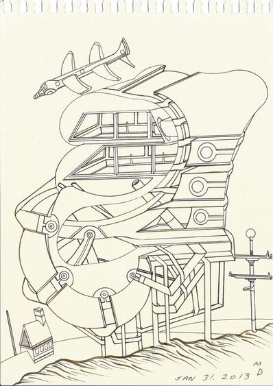 Matthew Dennison, 'Daily Drawings: January 31, 2013', 2013