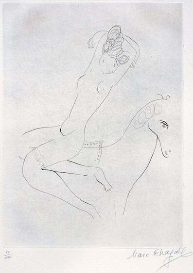 Marc Chagall, 'L'Ecuyère', 1926-1927