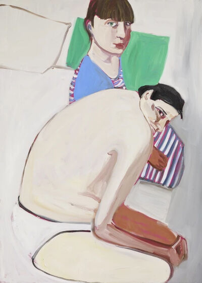 Chantal Joffe, 'The Squid and the Whale II', 2017