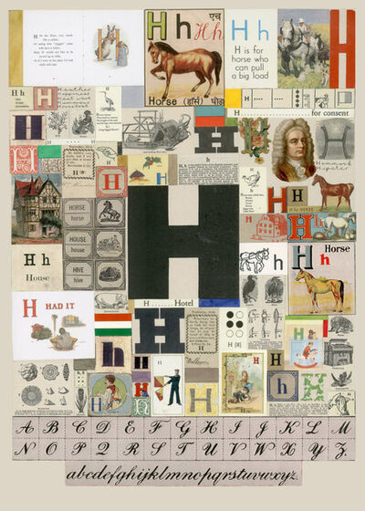 Peter Blake, 'The Letter H', 2007