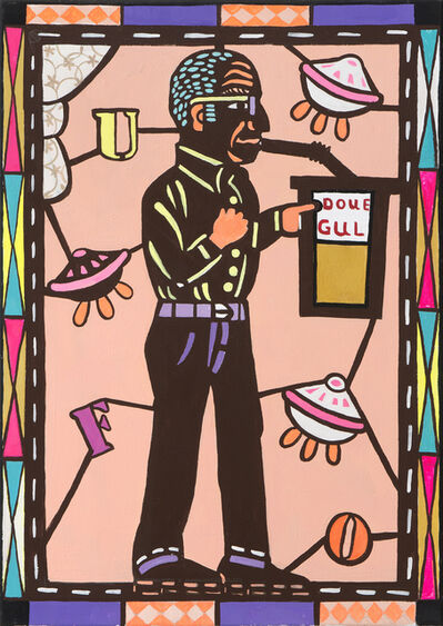 Spyros Aggelopoulos, 'U.F.O Art Critique', 2020
