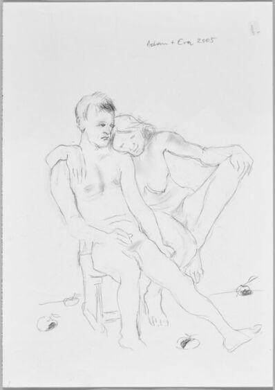 Maria Lassnig, 'Adam + Eva', 2005