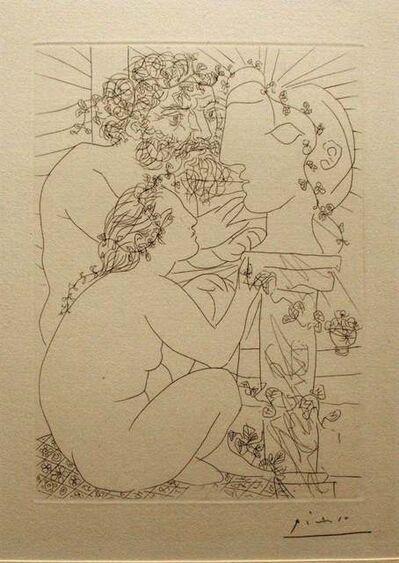 Pablo Picasso, 'Sculpteur, Modèle Accroupi et Tête Sculptée ', 1933