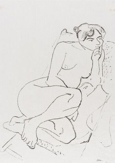 Henri Matisse, 'Figure Pensive au Fauteuil Pliant (Duthuit 396)', 1906