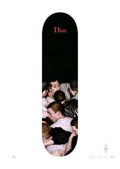 Dan Witz, 'Dan Witz x Dior Homme', 2017