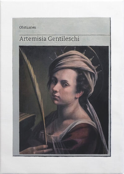 Hugh Mendes, 'Obituary: Artemisia Gentileschi', 2019