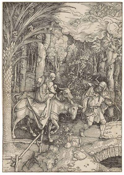 Albrecht Dürer, 'The Flight into Egypt, from: The Life of the Virgin (B. 89; M., Holl. 201; S.M.S. 179)', ca. 1504