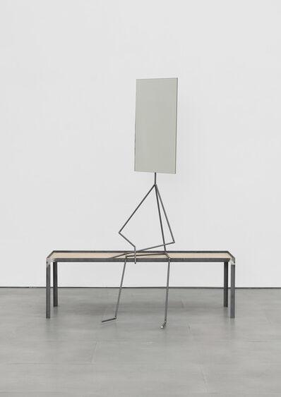 Laure Prouvost, 'metal man (mirror)', 2019
