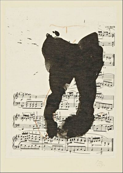 Robert Motherwell, 'Music for Long Point (Cat. Raisonne Ref: Engberg & Banach 442)', 1988
