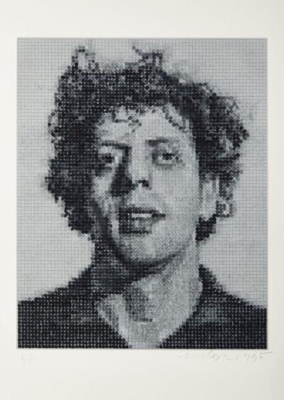 Chuck Close, 'Phil/Spitbite', 1995