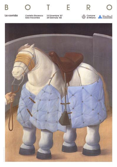 Fernando Botero, 'El caballo del Picador', 1988