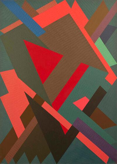 William T. Williams, 'Cape Split (Shimmer Series)', 1972-1973
