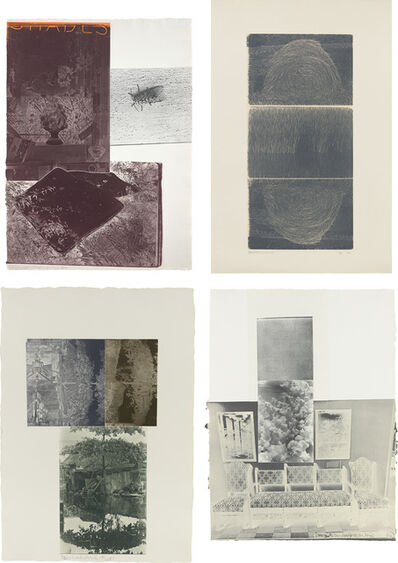 Robert Rauschenberg, 'Etching I; Etching II; Etching III; and Etching VI, from The Razorback Bunch', 1980-83