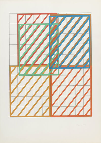 Dóra Maurer, 'Displacement I-II/I', 1972