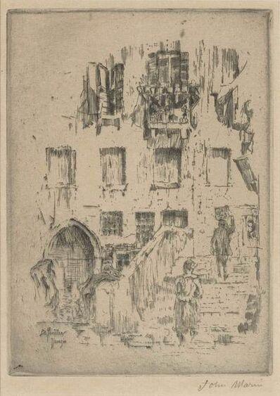 John Marin (1870-1953), 'SANTA MARIA DELLA SALUTE, VENICE; WINDOW, VENICE; PLACE ST. JACQUES, PARIS (ZIGROSSER 53; 62; 77)', 1907
