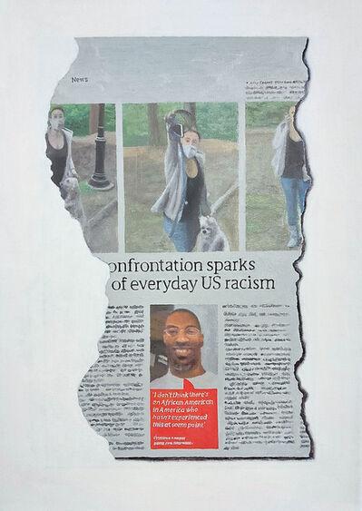 Hugh Mendes, 'Everyday US Racism', 2020