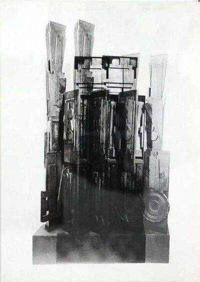 Louise Nevelson, 'Clowns' Houses', 1966