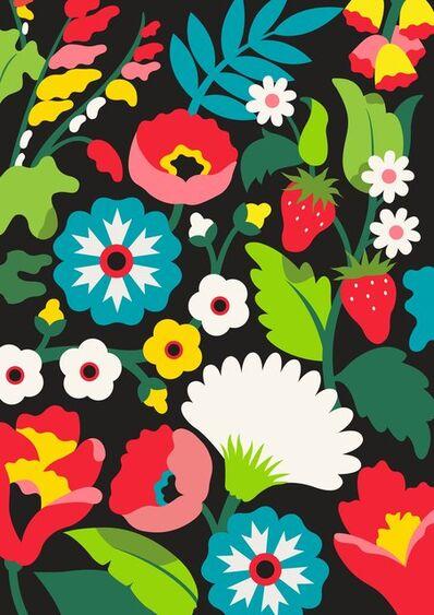 DabsMyla, 'Flowers 1', 2020