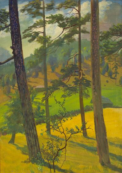 Vasily Shukhaev, 'Four Pines. Tsikhisjvari', 1957