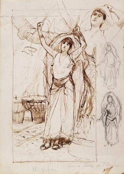 Frederick Arthur Bridgman, 'Dancing Woman', ca. 1887