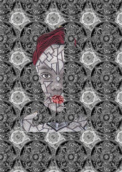 Nandi Bayekula, 'Crystallized Portrait', 2019
