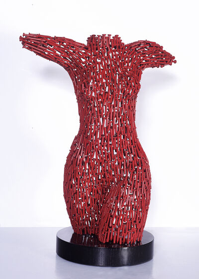 Niso Maman, 'Female Torso - Welded Nails RED'